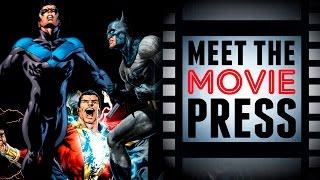 Download Matt Reeves, Chris McKay, David F. Sandberg - Joining The Hero Movie Train! - Meet The Movie Press Video