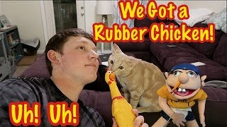 Download Jeffy and Lance Got a Rubber Chicken! Video