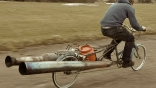 Download The JET Bicycle - The most dangerous unsafe bike EVER Video