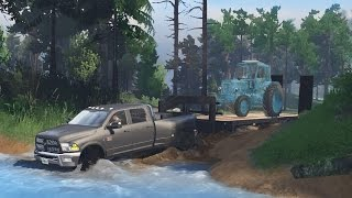 Download Dodge Ram 5500 Cummins Dually   Heavy Off-Road Towing   Mudding & Hauling! (SpinTires) Video