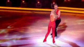 Download Jennifer Ellison cuts head open with skate on Dancing On Ice - 12th February 2012 Video