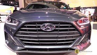 Download 2019 Hyundai Veloster - Exterior and Interior Walkaround - 2018 Detroit Auto Show Video