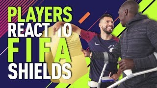 Download FUT SHIELD PLAYER REACTIONS | FIFA 18 | Walker calls out Sterling & Sane! Video