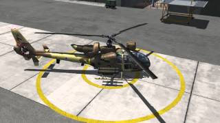 Download DCS: SA342 Gazelle Startup Tutorial Video