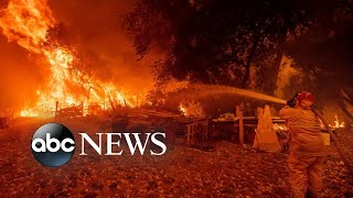 Download Mendocino Complex fire is now largest in California history Video