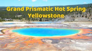 Download Grand Prismatic Hot Spring - Yellowstone Video