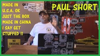 Download PAUL SHORT RESPONCE VID. MADE IN CHINA Video
