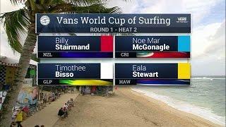 Download 2016 Vans World Cup: Round One, Heat 2 Video