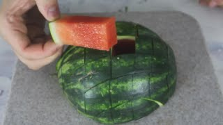Download Awesome Way to Cut Watermelon Video