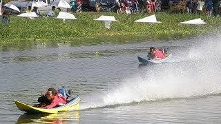 Download Power Boat Hydroplane Racing Longtails in Thailand Video