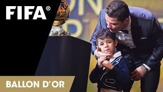 Download CR7 and Pele's emotional night Video