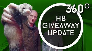 Download Harley Benton Giveaway Update and Thanks + Ferrets! Video