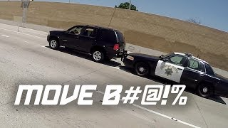Download POLICE PUSHES CAR! (Bad Drivers Compilation) Video