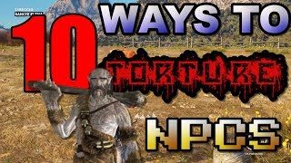 Download Top 10 Hilarious Ways Gamers Have Tortured Video Games NPCs Video