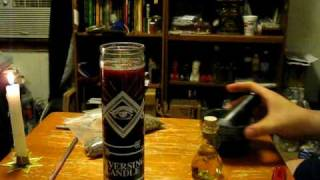 Download How to fix or dress a 7 day candle Video