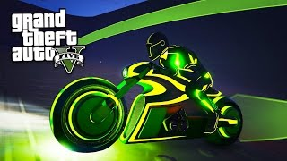 Download GTA 5 ″TRON″ DLC - TRON BIKE & TRON SUIT SPENDING SPREE!! (GTA 5 Online Deadline DLC Update) Video