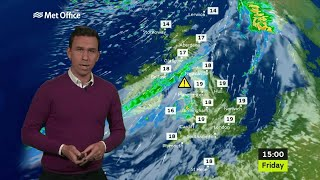 Download Friday morning forecast - 13/10/17 Video