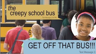 Download THE CREEPY SCHOOL BUS text story Video