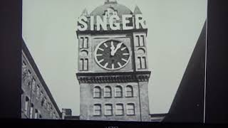 Download Let's Tour the Singer Sewing Machine Plant in Scotland - Machinery..Men & Women making Masterpieces! Video