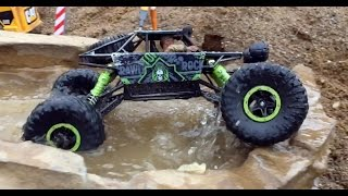 Download BRUDER TOY KID Bruder tunnel project RC ROCK CRAWLER Test Drive Video