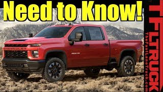Download 2020 Chevy Silverado HD: Now Tows 35,500 - Here's What You Need To Know! Video