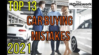 Download 13 Car Buying Mistakes - How Auto Dealerships rip you off - How to buy a Vehicle from a Car Dealer Video