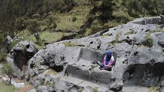 Download Exploring The Megalithic Temple Of Pyramid Near Cusco Peru Video