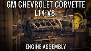 Download Building GM's most powerful Engine Ever, the 650hp LT4 V8! Video