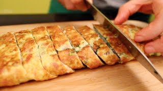 Download How to Make Korean Omelet Roll (계란말이) Video
