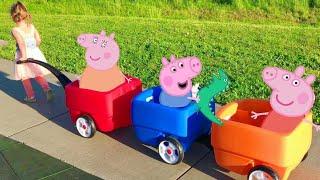 Download Peppa Pig Three Little Pigs Nursery Rhyme Song / Story | Babies, Toddlers, Children, Kids Video Video