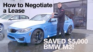 Download How to SAVE $5,000 on a Lease: BMW M3 Video