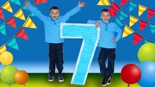 Download GIANT Birthday Piñata & Pizza Party Video