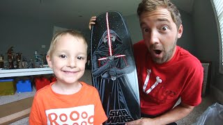 Download NEW RARE STAR WARS SKATEBOARD! / Father Son Unboxing Video