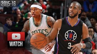 Download Chris Paul vs Isaiah Thomas PG DUEL Highlights (2016.02.10) Celtics vs Clippers - AMAZING! Video