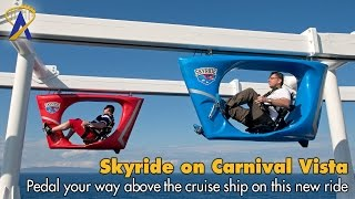 Download Skyride POV on Carnival Vista Video