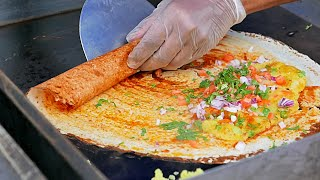 Download New York Street Food - INDIAN MASALA DOSA and Young Coconut Water Video
