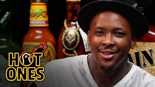 Download YG Keeps His Bool Eating Spicy Nuggets | Hot Ones Video