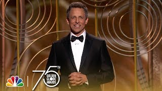 Download Seth Meyers' Monologue at the 2018 Golden Globes Video