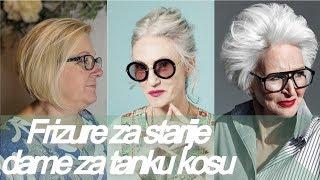 Download Frizure 🌟 za starije dame za tanku kosu - Trendovi frizura Video