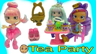 Download Gemma Stone Tea Party with Shoppies Doll Kirstea and Pirouetta + Exclusive Shopkins Video