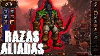 Download Orcos Mag'har y Enanos Hierro Negro EN EL JUEGO!!! | Alfa de Battle for Azeroth Video