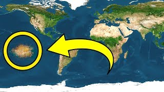 Download A New Continent Is Discovered on Earth In the Pacific Ocean Video