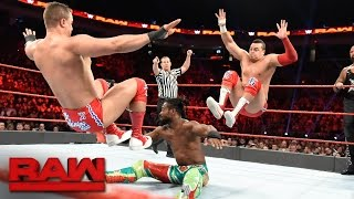 Download New Day, Cesaro & Sheamus vs. Gallows, Anderson & Shining Stars: Raw, Dec. 19, 2016 Video