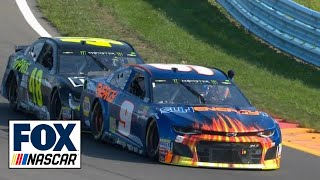 Download Radioactive: Watkins Glen - ″I got my man, Jimmie Jam, coming to push me.″ | NASCAR RACE HUB Video