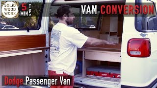 Download Dodge Passenger Van Full Build Tour Video