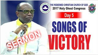 Download Pastor Ayo Oritsejafor Sermon @ RCCG 2017 HOLY GHOST CONGRESS #Day5 Video