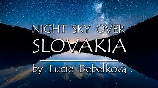 Download Slovakia's Night Sky with Milky Way - Timelapse Video - 4K Video