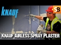 Download How to Use Knauf Airless Readymix Spray Plaster Video