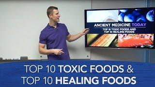 Download Top 10 Toxic Foods and Top 10 Healing Foods Video