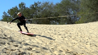 Download TOW IN SAND DUNE SURFING! Video